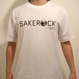 SAKEROCK 1 - WHITEボディ×黒プリント