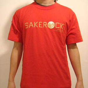 SAKEROCK 1 - MOTHER REDボディ×ゴールドプリント
