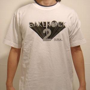 SAKEROCK 2 - WHITEボディ×黒プリント